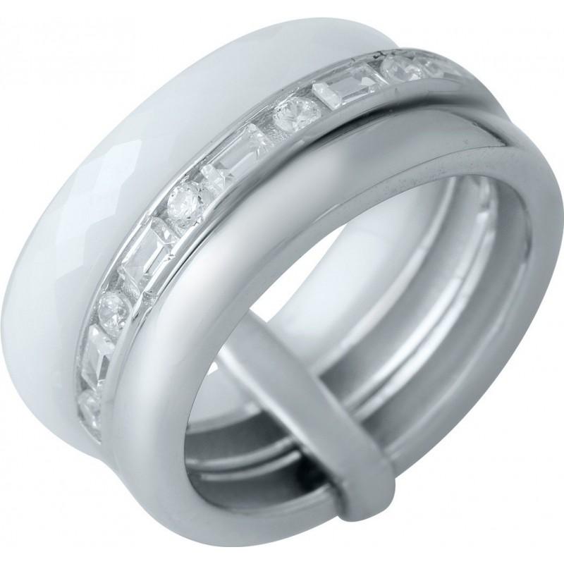 Серебряное кольцо SilverBreeze с керамикой (1978047) 16.5 размер