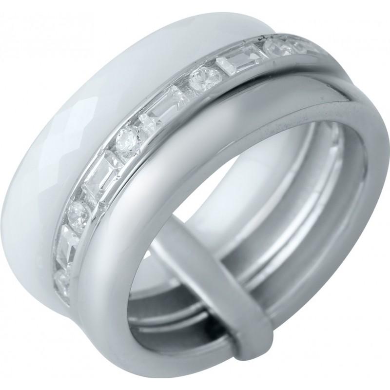 Серебряное кольцо SilverBreeze с керамикой (1978047) 15.5 размер