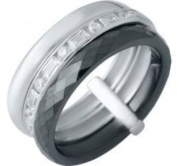 Серебряное кольцо SilverBreeze с керамикой (1978085) 17 размер