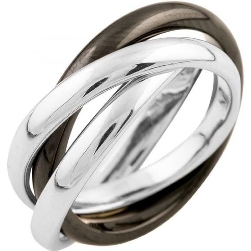 Серебряное кольцо SilverBreeze с керамикой (1541753) 17 размер