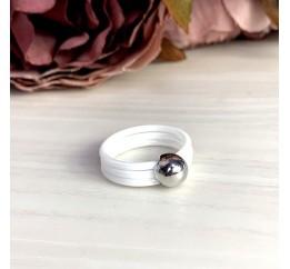 Серебряное кольцо SilverBreeze с керамикой (1577165) 18.5 размер