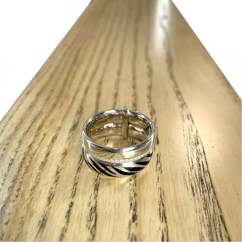 Серебряное кольцо SilverBreeze с фианитами (1982396) 19 размер