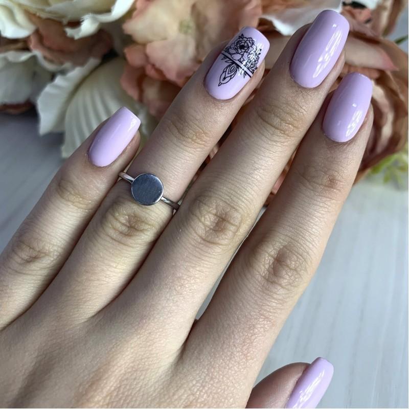 Серебряное кольцо SilverBreeze без камней (2002222) 15.5 размер
