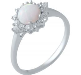 Серебряное кольцо SilverBreeze с опалом (2018278) 16.5 размер