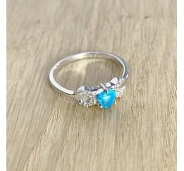 Серебряное кольцо SilverBreeze с опалом (1970324) 18.5 размер