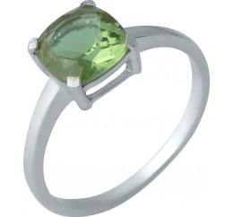 Серебряное кольцо SilverBreeze с Султанит султанитом (1983935) 18.5 размер