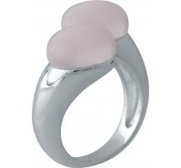 Серебряное кольцо SilverBreeze с кошачим глазом (2002574) 17 размер