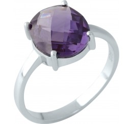 Серебряное кольцо SilverBreeze с олександритом (1962015) 17 размер