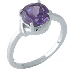 Серебряное кольцо SilverBreeze с олександритом (1962145) 18 размер