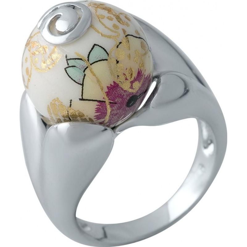 Серебряное кольцо SilverBreeze с емаллю (2004127) 18.5 размер