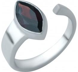 Серебряное кольцо SilverBreeze с натуральным гранатом (1932742) 18 размер