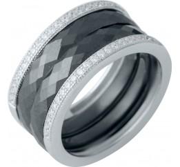Серебряное кольцо SilverBreeze с керамикой (1978078) 17 размер