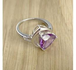 Серебряное кольцо SilverBreeze с олександритом (1994474) 17 размер