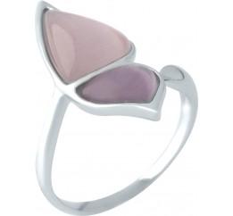 Серебряное кольцо SilverBreeze с кошачим глазом (1955604) Регулируемый размер