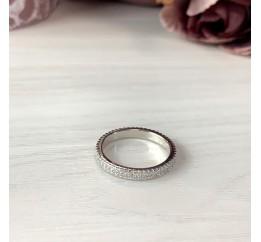 Серебряное кольцо SilverBreeze с фианитами (1957301) 16.5 размер