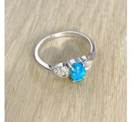 Серебряное кольцо SilverBreeze с опалом (1967232) 17 размер