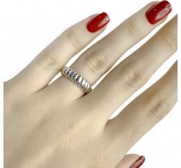Серебряное кольцо SilverBreeze без камней (1957295) 17.5 размер
