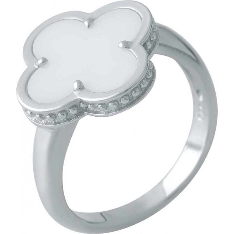 Серебряное кольцо SilverBreeze с керамикой (1998052) 16 размер
