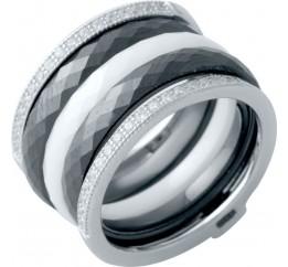 Серебряное кольцо SilverBreeze с керамикой (2021360) 17.5 размер