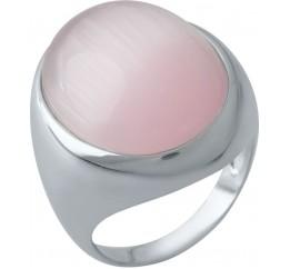 Серебряное кольцо SilverBreeze с кошачим глазом (1975268) 17 размер