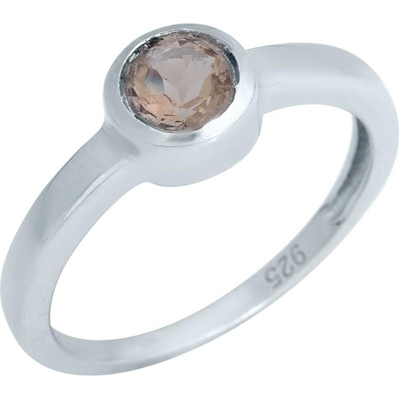 Серебряное кольцо SilverBreeze с Султанит султанитом (1989388) 18 размер