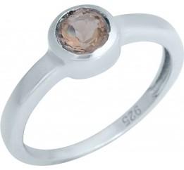Серебряное кольцо SilverBreeze с Султанит султанитом (1989388) 17 размер