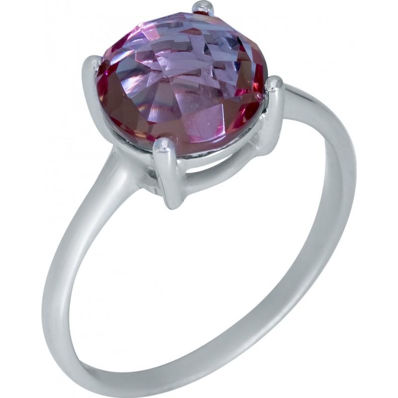 Серебряное кольцо SilverBreeze с Султанит султанитом (1948477) 17 размер