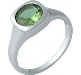 Серебряное кольцо SilverBreeze с Султанит султанитом (1990209) 18 размер
