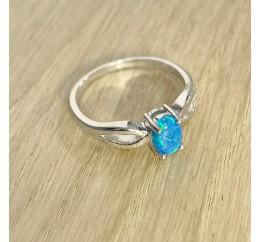 Серебряное кольцо SilverBreeze с опалом (1970386) 18 размер