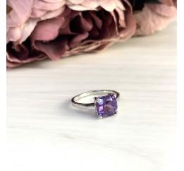 Серебряное кольцо SilverBreeze с олександритом (1971543) 18 размер