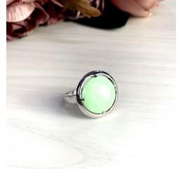 Серебряное кольцо SilverBreeze с натуральным ониксом (2004141) 17 размер