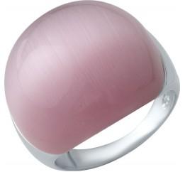 Серебряное кольцо SilverBreeze с кошачим глазом (2015154) 17.5 размер