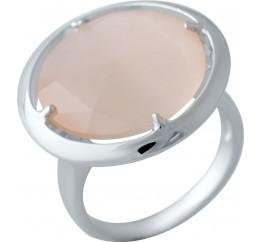 Серебряное кольцо SilverBreeze с кошачим глазом (2015307) 17.5 размер