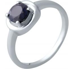 Серебряное кольцо SilverBreeze с натуральным сапфиром (2021834) 18 размер