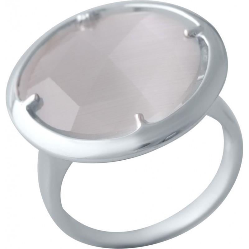 Серебряное кольцо SilverBreeze с кошачим глазом (2015338) 17.5 размер