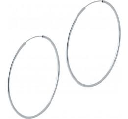 Серебряные серьги SilverBreeze без камней (2023920)