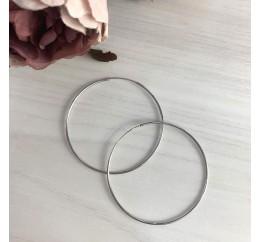 Серебряные серьги SilverBreeze без камней (2023944)
