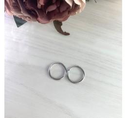 Серебряные серьги SilverBreeze без камней (2023982)