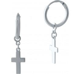 Серебряные серьги SilverBreeze без камней (2024002)