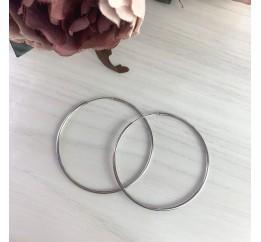 Серебряные серьги SilverBreeze без камней (2024033)