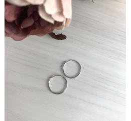 Серебряные серьги SilverBreeze без камней (2024057)