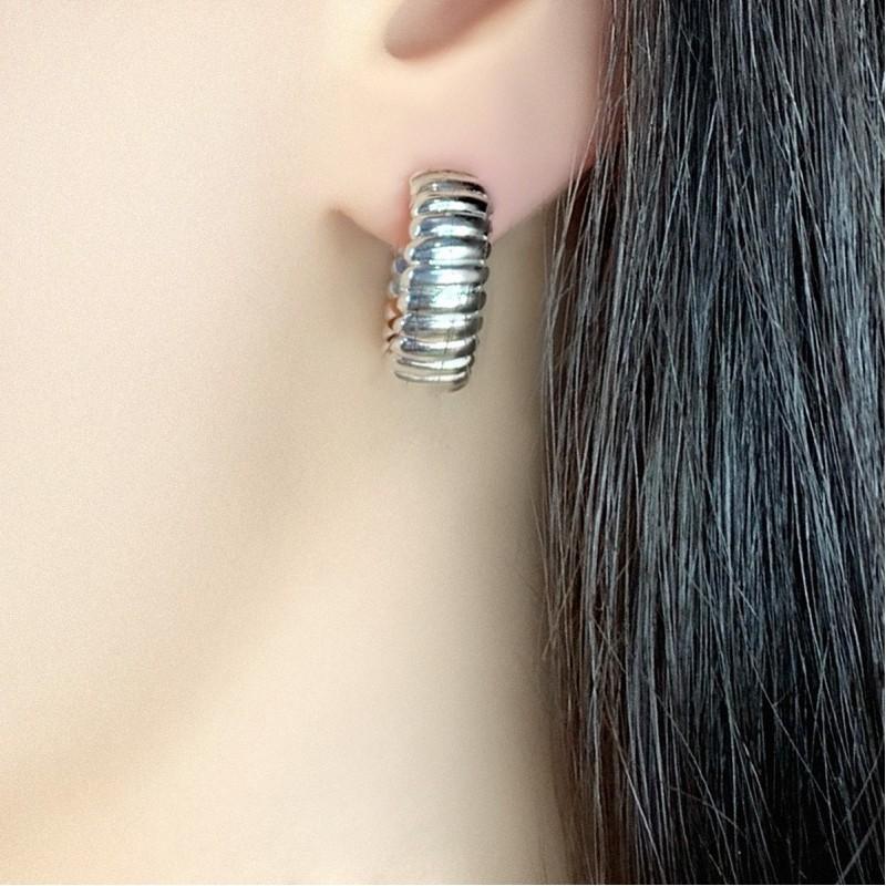 Серебряные серьги SilverBreeze без камней (1951422)