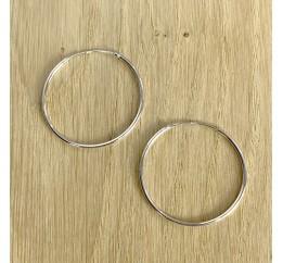 Серебряные серьги SilverBreeze без камней (1981702)