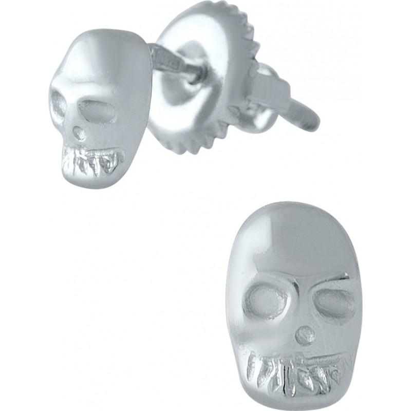 Серебряные серьги SilverBreeze без камней (1976906)