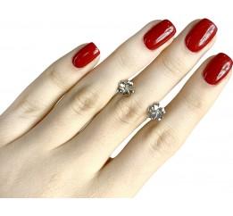 Серебряные серьги SilverBreeze без камней (1560914)