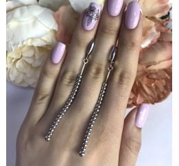 Серебряные серьги SilverBreeze без камней (2001935)