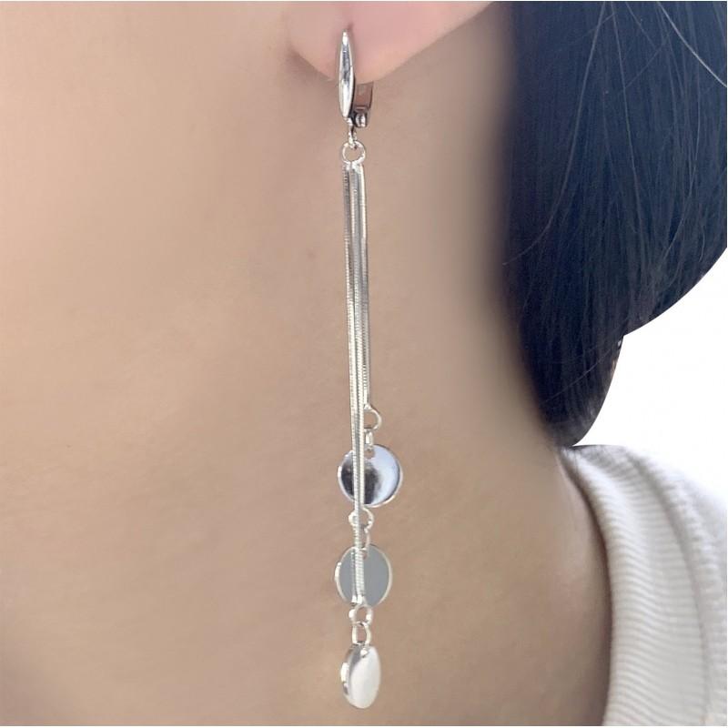 Серебряные серьги SilverBreeze без камней (2001942)