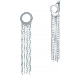 Серебряные серьги SilverBreeze без камней (2001997)