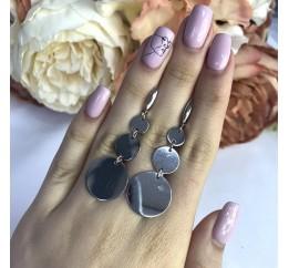 Серебряные серьги SilverBreeze без камней (2002000)