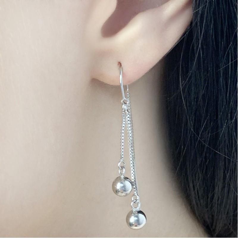 Серебряные серьги SilverBreeze без камней (1583975)